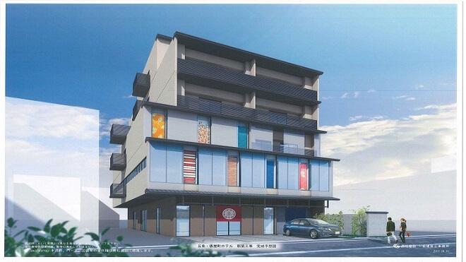 安本武司商店 新社屋