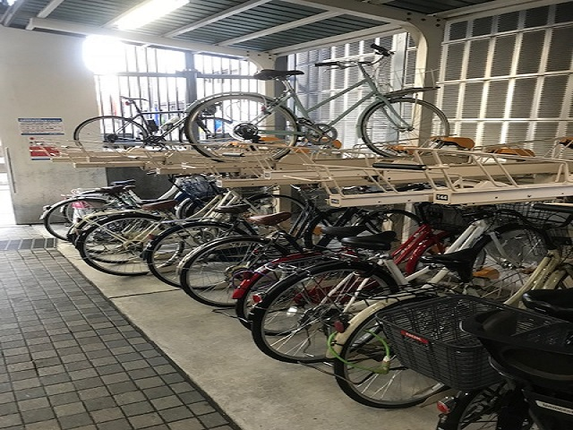 大丸 京都 駐輪場