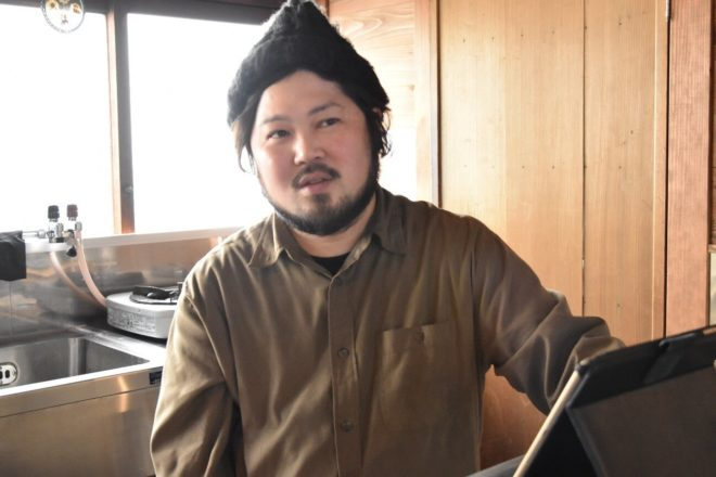 YAK KYOTO オーナーの渡邉孝之さん
